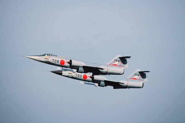 Photos: F-104J 76-8706+700 207sq KMQ 1984Nov