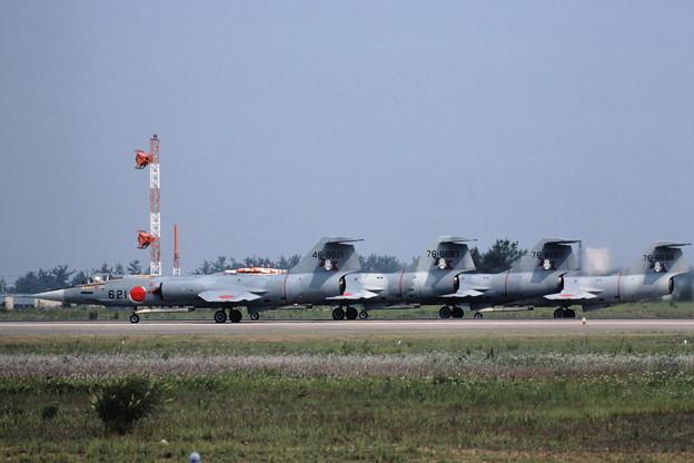 F-104J ACM 203sq ENG runup RJNK 1982Jun