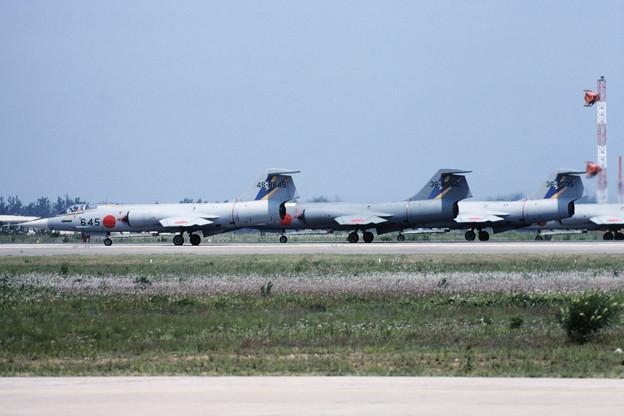 F-104J ACM 204sq ENG runup RJNK 1982Jun