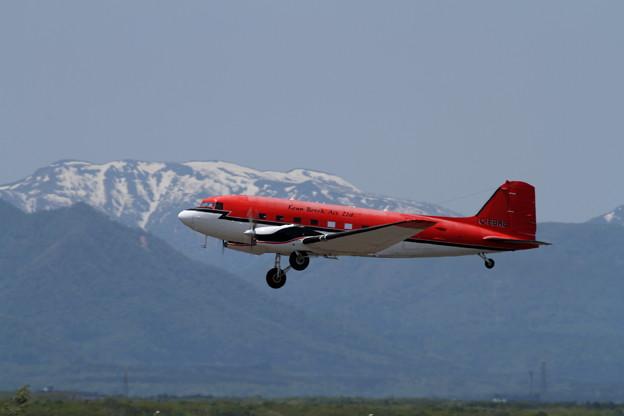 BT-67 C-FBKB returns to CANADA 1