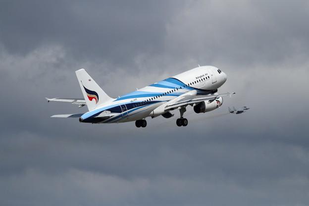 A319 HS-PPF Bankok Air takeoff