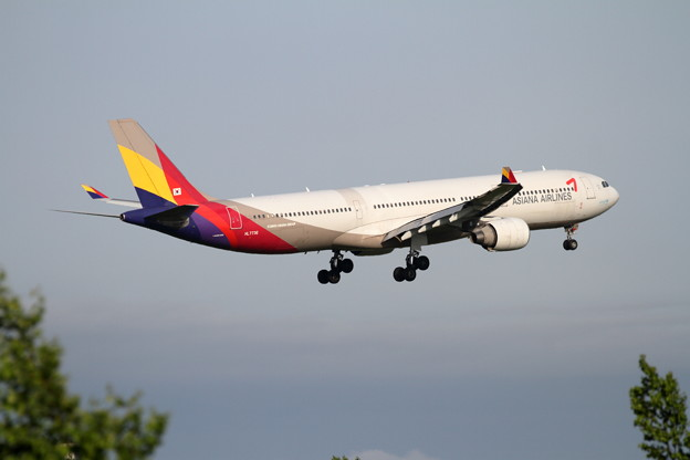 A330-300 HL7736 Asiana Airlines approach