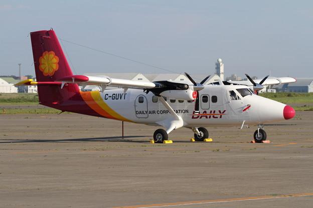 DHC-6-400 C-GUVT DAILY Air ferry途中