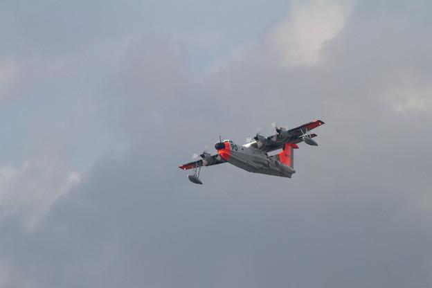 "US-1A 9090 ""IVORY"" 岩国へ帰投(2)"