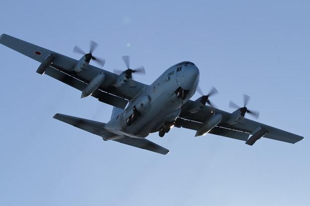 KC-130H 85-1080 approach