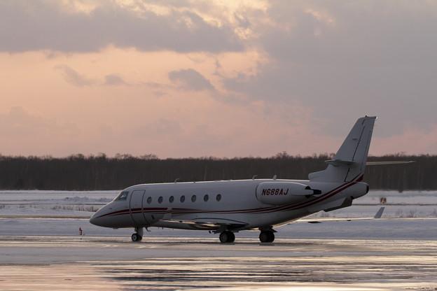 IAI Gulfstream200 N688AJ taxis