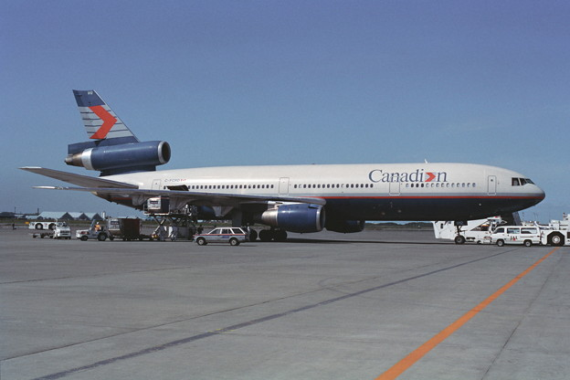 DC-10-30 C-FCDR Canadian Air CTS 1989夏