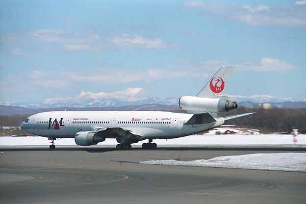 DC-10-40 JA8540 JAL CTS 1995冬