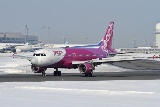 A320 Radomeが1pointなPeach