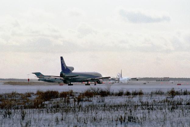 千歳飛行場 1986冬 (2)