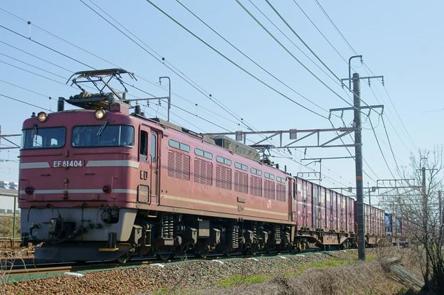 Photos: 4071レ【EF81 404牽引】