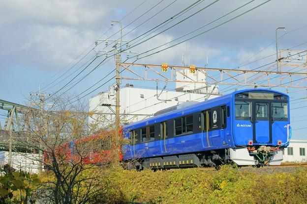 Photos: EV-E801系 甲種輸送