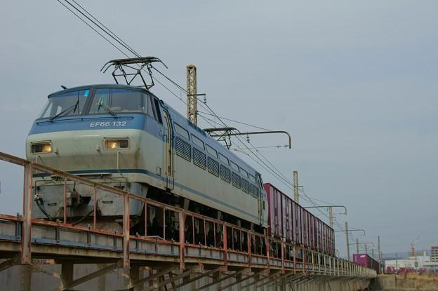 Photos: 1083レ【EF66 132牽引】