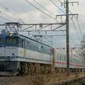 東武70000系甲種輸送【EF65 2050牽引】