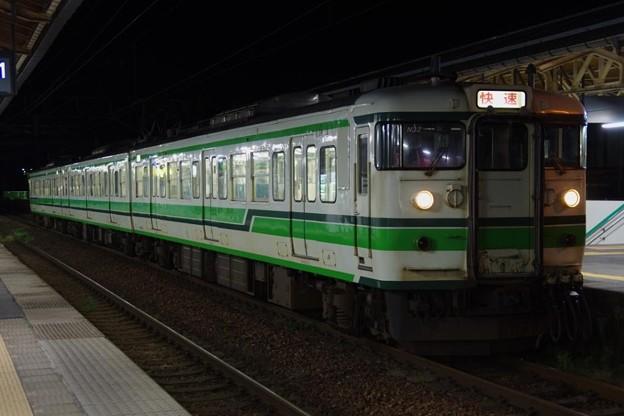 115系N32編成 快速新潟行き(所定E653系運用を代走)
