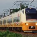 Photos: E653系1000番台U103編成 新発田駅前商店街ミステリー列車