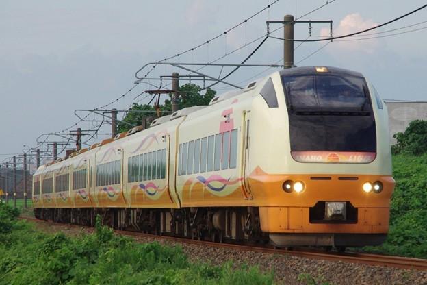 E653系1000番台U105編成 いなほ12号