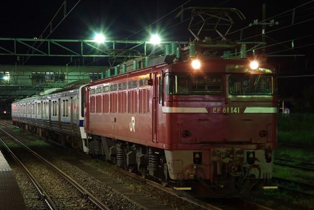 EF81 141+415系1500番台K540編成 海外譲渡配給