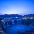 原尻の滝 ブルーアワー