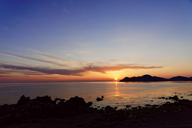 夕陽を目指すフェニックス