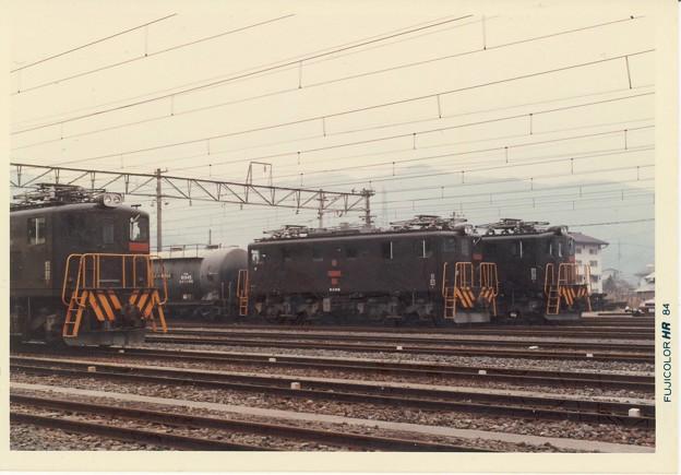 Tobu / electric locomotives @ Kuzu-u