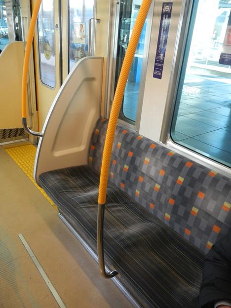 Odakyu 1000 SiC refurbished, priority seat