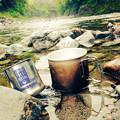 Photos: 川とコーヒー