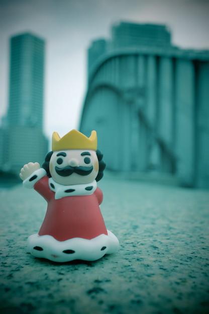 王さまの勝鬨橋さんぽ