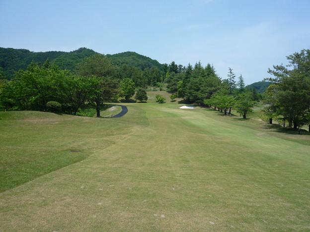 写真: 足利城ゴルフ倶楽部4番ミドルホール画像2015.5.27