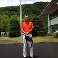 写真: 足利城ゴルフ倶楽部選手権予選で前半終了して2016.6.26