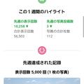 写真: グーグルマップで足利カントリークラブコース画像表示回数5万回新記録達成のメール3