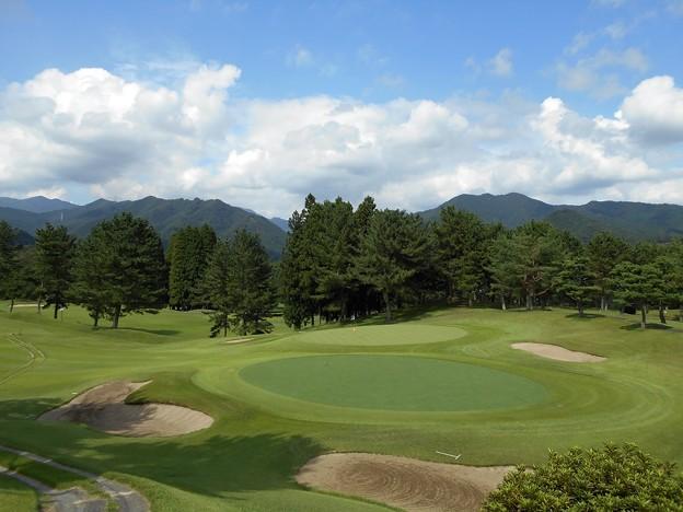 Photos: 足利カントリークラブ飛駒コース画像9番2016.8.21