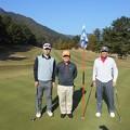 Photos: 足利カントリークラブ飛駒コース9番ホールのEさん・長さん・鉄人
