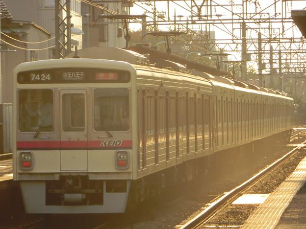 京王7000+9000系(7424F+9702F) 特急京王八王子行き