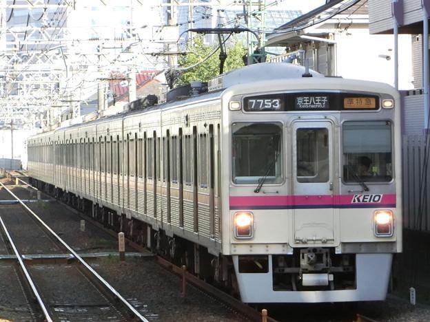 京王7000系(7703F+7803F) 準特急京王八王子行き