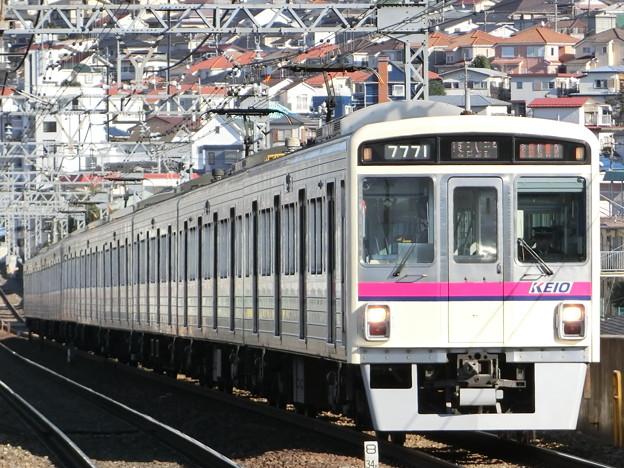 京王7000系LED車(7721F) 準特急京王八王子行き