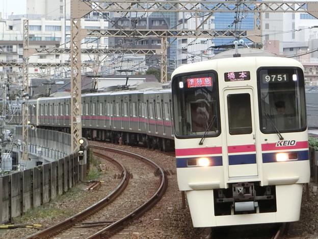 京王7000+9000系(7423F+9701F) 準特急橋本行き