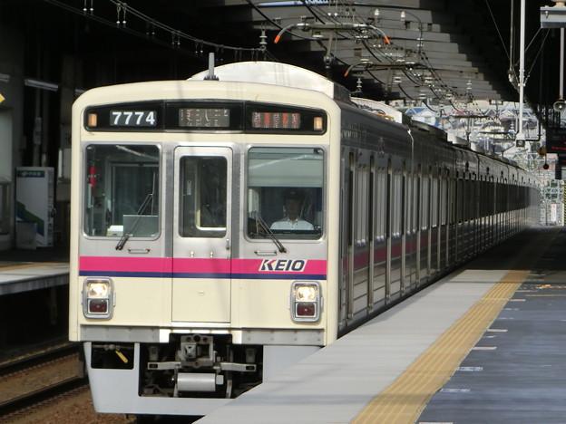 京王7000系LED車(7724F) 準特急京王八王子行き