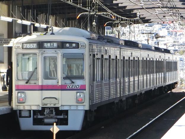 京王7000系(7807F+7424F) 各駅停車高幡不動行き