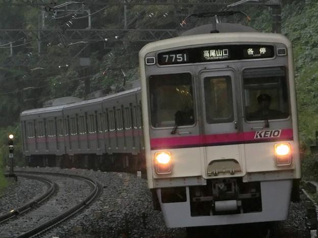京王7000系(7701F) 各駅停車高尾山口行き