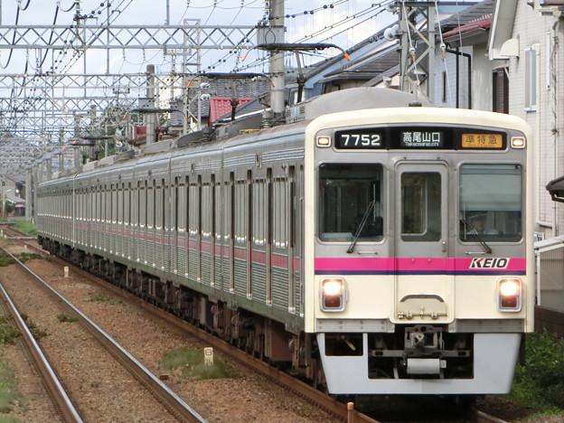 京王7000系(7702F+7807F) 準特急高尾山口行き