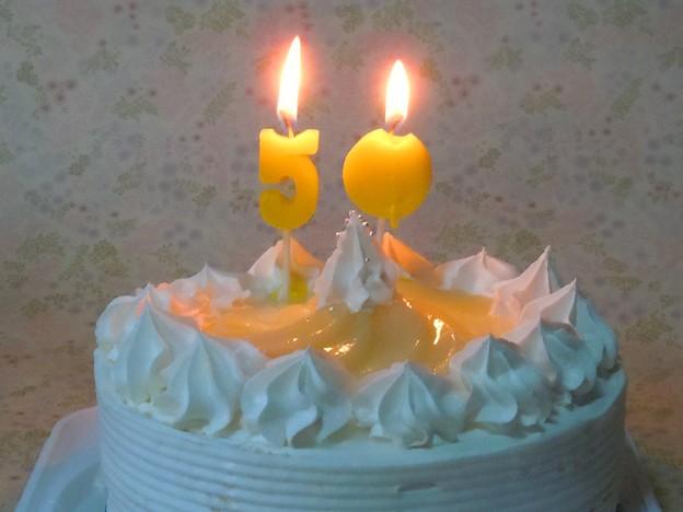 マーちゃん手作りのバースデーケーキ(18cm)はとてもグーだった♪