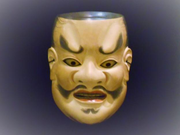 飛梅伝説の天神さまの能面 in 尾道工芸展