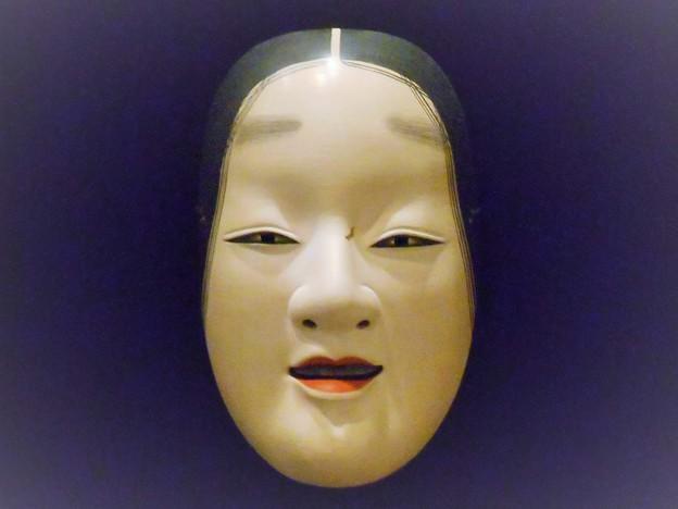 節木増(能面)(シミ有り)in 尾道工芸展