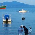 夏休みの海~親子釣り~