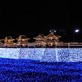 Photos: 三原城(浮城)築城450年記念イルミネーション4