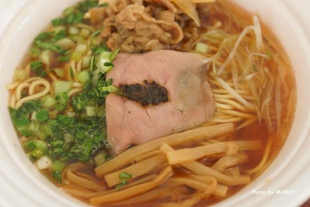 龍のひげ×麺や虎徹@秋薫る牛醤油そば