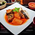 Photos: 大戸屋 ( 成増 )  黒瀬ぶりと大根の煮つけ定食