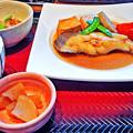 Photos: 大戸屋 ( 成増 )  カラスガレイの煮つけ定食