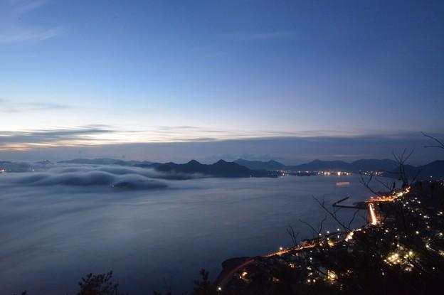 三原市筆影山 海霧1